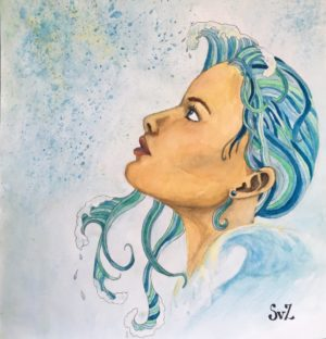 artwork, aquarel, waterkunst