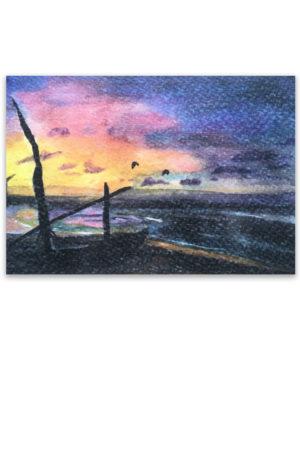 kitesurfen, kitesurfer, kitesurfers, Artwork, Waterkunst