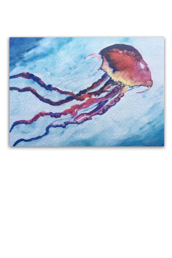 Aquarel, kwal, artwork, kaart, Waterkunst