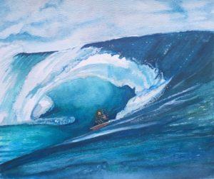 artwork, kitesurfen, kitesurfer, kiten, Waterkunst